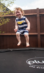 182/365 Boing (princesspink 77) Tags: jump toddler bounce 22months day182 day182365 365the2015edition 3652015 1jul15