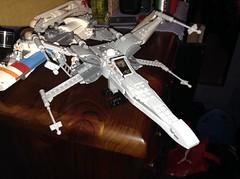 T-70 X-wing. (Entertainingly lame) Tags: starwars lego xwing legostarwars episode7 theforceawakens t70xwing