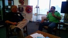 Rep Matt Hudson meeting with local small business owner Haitham Kaki.jpg-large