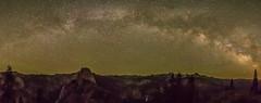 Milky Way Over Half Dome (Rich Luibrand) Tags: halfdome yosemitenationalpark milkyway nevadafall