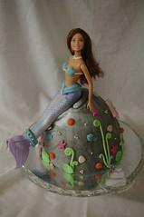 Mermaid Barbie Cake (toertlifee) Tags: kinder torten törtlifee kindertorte happybirthday torte cake kids geburtstag birthdaycake geburtstagstorte baby girl mädchen mermaid meerjungfrau barbie puppe doll