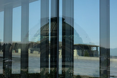 Union Station Dome (Blinking Charlie) Tags: usa reflection window dome tacoma unionstation washingtonstate tam 2015 tacomaartmuseum canonpowershots110 tacomacourthouse blinkingcharlie