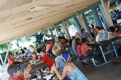 City Employee Picnic 2015 (City of Fort Collins, CO) Tags: park city lake pool electric fun lunch picnic mayor fort bbq grill vehicle recreation collins employees