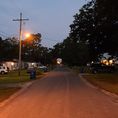 The Road Ahead. Day 117. Davis St. in Jennings, LA. Spent most of yesterday in a library, then thanks to a local journalist got a great night sleep. Now to get hustling again, places to see, miles to trod. #TheWorldWalk #travel #wwtheroadahead