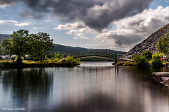 Pont Padarn Bridge (Paul Sivyer) Tags: bridge llanberis snowdonia northwales padarncountrypark paulsivyer wildwalescom