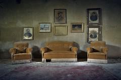 Take a seat (www.forgottenheritage.co.uk) Tags: ue explore exploration abandoned derelict empty house italy residence italian villa