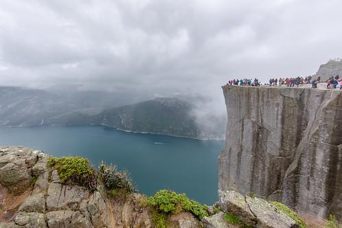 It is something like 600 meters down.