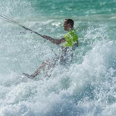 Kite Surfing (paul.andrew.white) Tags: dubai dubaiphotographer jumeirah kite beach sea water sun paulandrewwhite whitebalancephotography