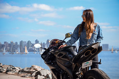 DSC_9225 (Steven Lenoir) Tags: yamaha yamahar1 r1 yammie sportbike sportsbike streetbike teamyamaha moto motorcycle harborisland sandiego sd model downtownsandiego bay