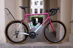 All City Mr Pink (Citybiker.at) Tags: allcitycyles enve force bbuc ontherivet brooksengland steelisreal skinwall