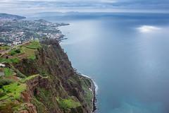 Cabo Girão (freyavev) Tags: cabogirao madeira cliff cliffs atlantic atlanticocean water sea portugal island green nature vsco canon canon700d madeiraisland