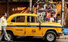 Kiriti Roy (Fahim Quader) Tags: kolkata yellow vintage india cinema