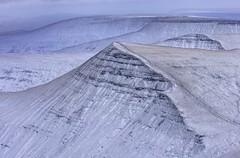 The Waves (pauldunn52) Tags: brecon beacons ridges sandstone terraces wales pen y fan view snow winter cribyn