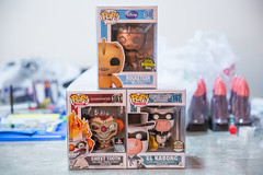 Funko Pop / Mail Call (F.Jimenez, Jr Photos) Tags: funko funkopop pop rocketeer disney playstation sweettooth twistedmetal twisted metal play station el kabong quick draw mcgraw gemini collectible limited exclusive comic specialty