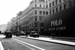 London (hedge climber) Tags: ralphlauren 2016 london street black white blackandwhite road monochrome architecture building city outdoor complex