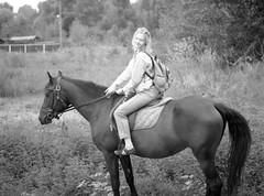 Sophie Riding Bagira (tuyddatygl) Tags: film fujineopanacros horse