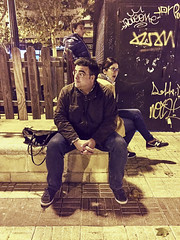 2015-11-01 19 58 26 (Pepe Fernández) Tags: lupy chele familia salamanca noche nocturna