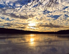 2017_0114Sunny-But-Cold-Pano0002 (maineman152 (Lou)) Tags: panorama west pond westpond lake frozen frozenover frozenlake ice icecovered icedoverpond icedover winter winterweather coldweather coldwinterweather cloudysky mackerelsky clouds sky wintersky nature naturephoto naturephotography landscape landscapephoto landscapephotography january maine