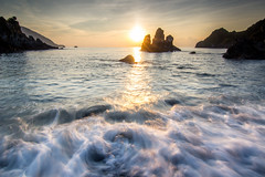 激浪海洋 (啊痛) Tags: taiwan tokina1116f28 canon cpl clouds 600d 台灣 粉鳥林 日出 landscape landscapes