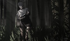 The condemned (Petite Chouky) Tags: condemned mesh sl forest darkness whole wheat chouky second life shi