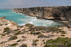 Head of Bight (Jules Farquhar.) Tags: nullarbor southaustralia headofbight greataustralianbight coast cliff outback australia landscape ocean blue water julesfarquhar sand limestone