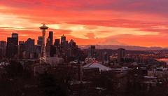 Sunrise over Seattle. (Sveta Imnadze) Tags: sunrise seattle wa pacificnorthwest