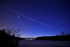 #night#winter#frozen#cold#snow#stars#sky#lake#hallesaale#germany#canon#eos550d#tamron#16mm#jaworskyj (niklashackel) Tags: night canon sky stars lake frozen jaworskyj 16mm cold tamron snow germany hallesaale eos550d winter