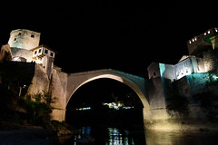 Stari Most (Der Berzerker) Tags: 2016 bosniaandhercegovina d750 mostar bridge night