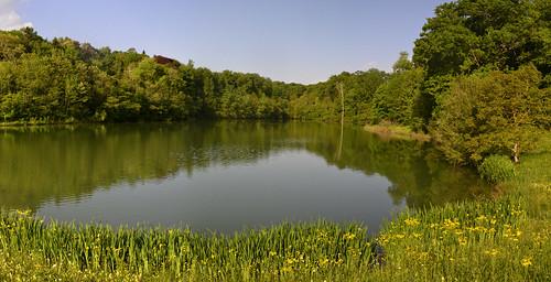 Saint-Blancard. Lac