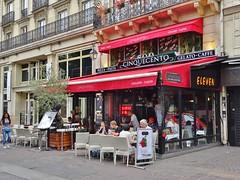 2015-06-14  Paris - Pizzéria Cinquecento - 38 Rue Saint-Denis (P.K. - Paris) Tags: paris café june french juin terrace terrasse 2015