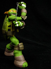 Bruce Lee Style (RandomWatts) Tags: toy action ninja turtles figure michelangelo tmnt revoltech