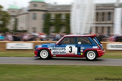 Renault 5 Maxi Rally ({House} Photography) Tags: goodwood festival speed motor show car automotive chichester westsussex housephotography timothyhouse hill climb motorsport racing renault 5 maxi rally philips classic worldcars