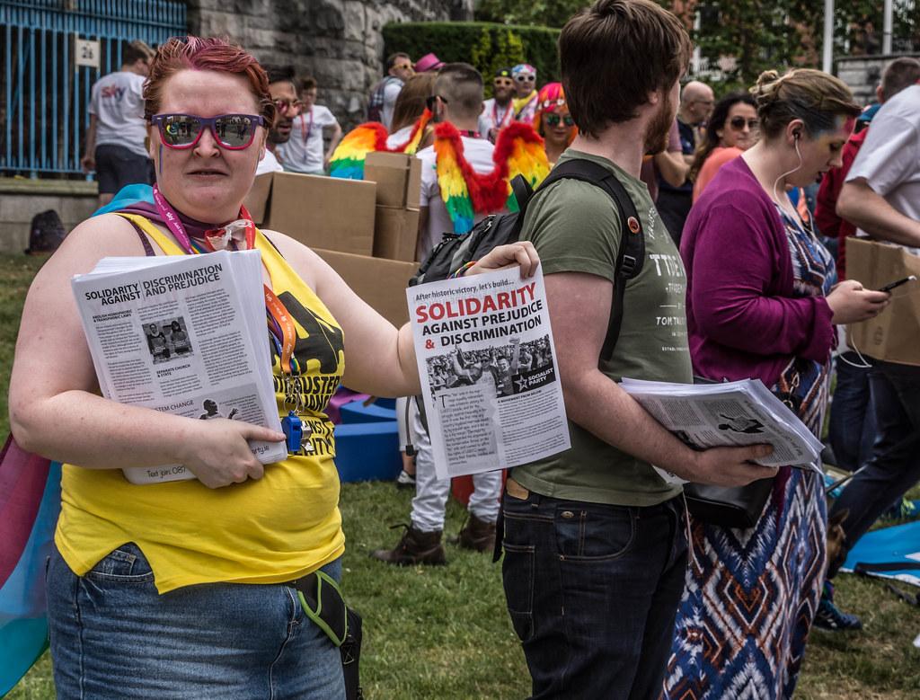 DUBLIN 2015 GAY PRIDE FESTIVAL [BEFORE THE ACTUAL PARADE] REF-106250