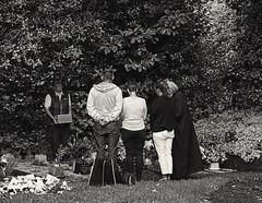 Blidworth Church Graveyard Internment of Ashes (Benedictine1) Tags: bw cemetery aap sacredspace year2015 berylallsop