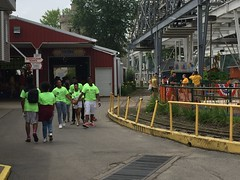 Lake Shafer, Indiana - Indiana Beach (sheriffdan10) Tags: park people lake water amusement funtime indiana amusementpark rides crowds rollercoasters lakeshafer