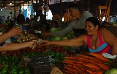 Fruit and vegetable market in Old Havana (Gregor  Samsa) Tags: city trip winter vacation people holiday money vegetables fruit rural town december locals market capital havana cuba local habana oldhavana habanavieja