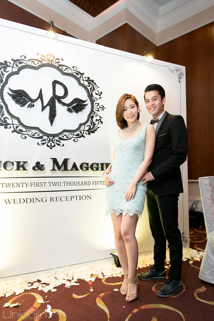 《婚攝一条》Rick & Maggie / 大直典華旗艦