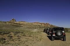 7 Mile Rim Lineup (W9JIM) Tags: moon jeep offroad moab w9jim wrangler efs1022mm 7milerim