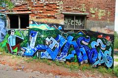 Pispala graffiti (Thomas_Chrome) Tags: street streetart art suomi finland graffiti europe gallery fame nordic walls tampere pispala