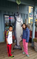 Oliver & Ella and the big salmon