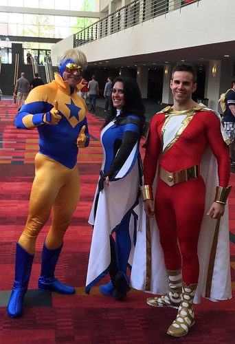 Booster Gold Equinox And New 52 Shazam Captain Marvel