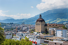 View (luyaozers) Tags: mountains architecture clouds buildings switzerland luzern
