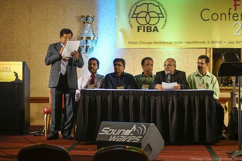News readers at FIBA 2015 - Current affairs