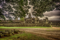 backside of Angkor Wat