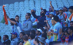 The Swami Army - Indian Cricket Fans, Melbourne Australia