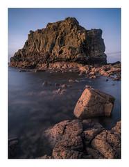 Dunure Rock Study_1 (Dylan Nardini) Tags: nikon water sea shore dunure stacks scotland ayrshire 2016 d810 coast rocks