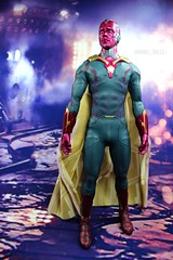Vision (MARVEL_DOLLS) Tags: avengers superhero marvel comicbooktoy 16scale sideshowcollectibles 12inchactionfigure ageofultron playscale backdrop background sixthscale marvelmovies marvelcinematicuniverse paulbettany jarvis scarletwitch