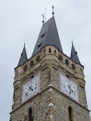 Nagybánya, Szent István-torony sisakja (ossian71) Tags: románia romania erdély transylvania nagybánya baiamare épület building műemlék sightseeing torony tower