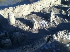 Gigantic sand CITY at Manzinita Beach! (wilsoncol805) Tags: sand sandcastle manzanita art beach