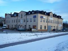 Baldersgatan 3 (tompa2) Tags: byggnad bil hus snö vinter norrtälje uppland roslagen sverige sweden